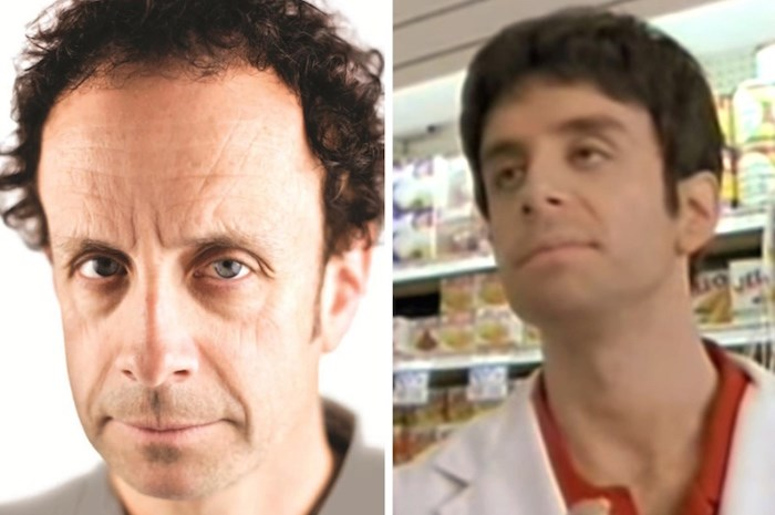 Current day Kevin McDonald, at left, thinks material from his Kids in the Hall days (right) has stood the test of time over 30 years.