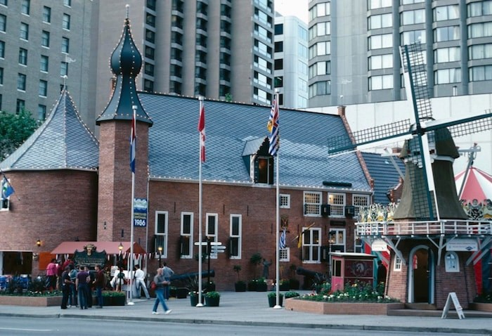 The Dutch castle, a familiar sight in South Richmond, was first located in the heart of Downtown Vancouver during Expo 86. Photograph By AL HARVEY PHOTO (SLIDEFARM.COM)