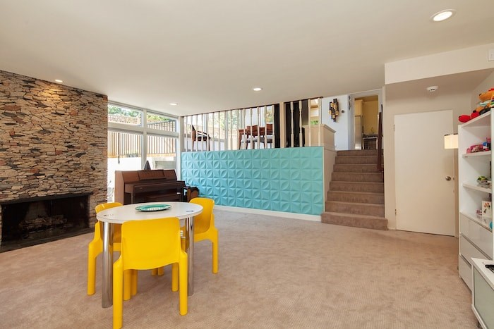 On the lower level is a spacious recreation room, which would make a great family room or playroom. Image supplied