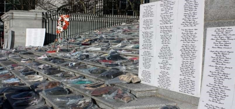More than a thousand pairs of shoes will be placed on the steps of the Vancouver Art Gallery, Dec. 6, to commemorate the lives of murdered women in B.C. Photo submitted