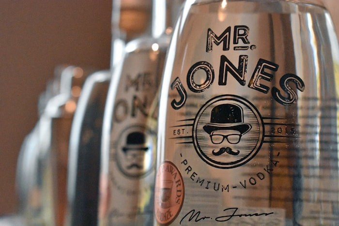 Jones Distillery's Mr. Jones Vodka has only been on the market for less than a year but has already earned international accolades. Photo by Rob Mangelsdorf