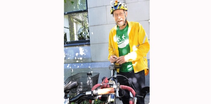 Arno Schortinghuis died Nov. 30. He was known as a tireless advocate for cycling in the region. File photo Dan Toulgoet