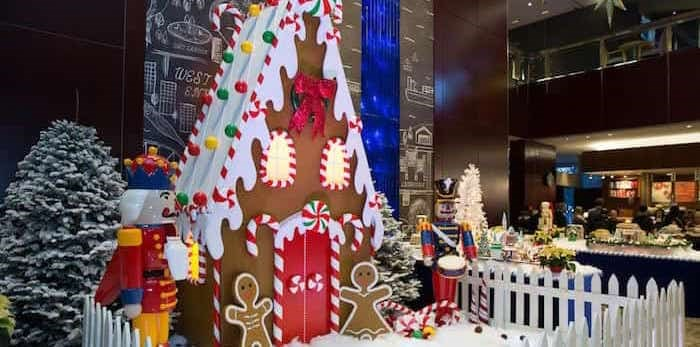 Gingerbread Lane is up and running for 2019. Photo:
