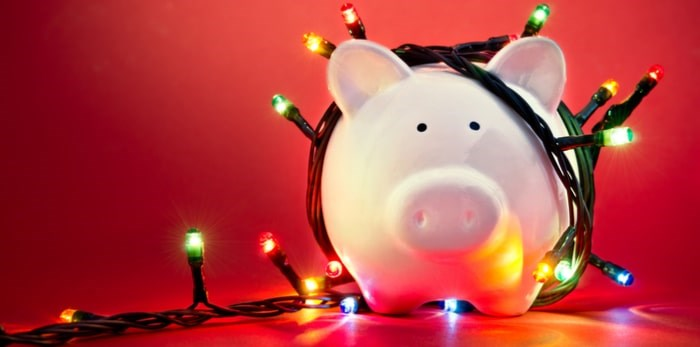 Christmas money/Shutterstock