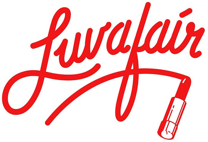 Luv-A-Fair nightclub's 1975 logo, designed by Steven R. Gilmore