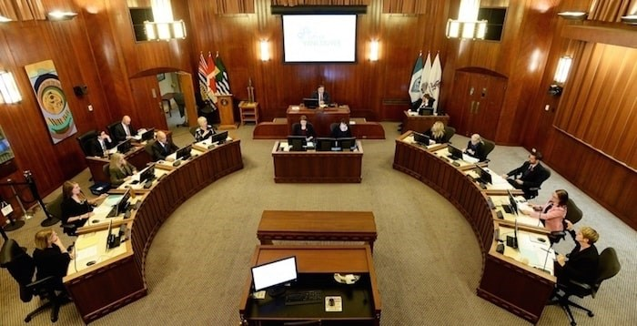 Vancouver city council approved Tuesday a 4.5 per cent property tax increase. Photo Dan Toulgoet