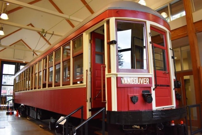 This tram was saved from demolition by the Burnaby Historical Society. (Burnaby Now file photo)