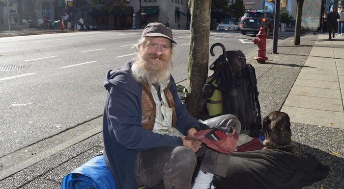 Willie (Photo by Rachel Way/Vancouver Care Project)