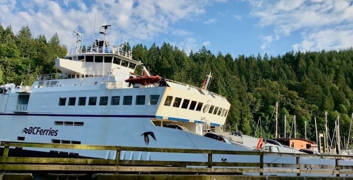 Bowen Island Ferry (Undercurrent file photo)