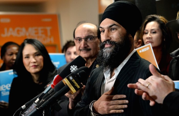 NDP leader Jagmeet Singh, seen here in January 2019, has won re-election as the MP for Burnaby South. Photo by Jennifer Gauthier