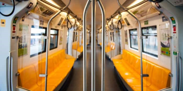The Bangkok Mass Transit System , known as BTS or Skytrain, is an elevated rapid transit system in Bangkok. / Shutterstock