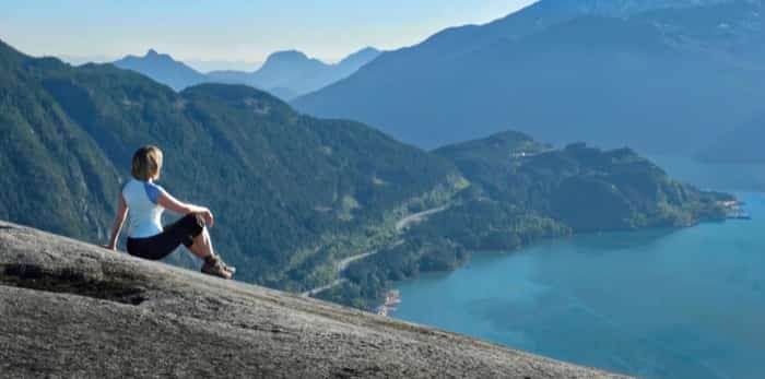 View from the Stawamus Chief / Shutterstock