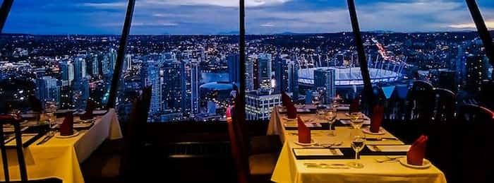 Top of Vancouver Revolving Restaurant / Facebook