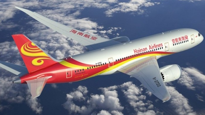 Hainan Airlines will use Boeing Dreamliner 787-9 aircraft on the Shenzhen-Vancouver route. Photo: Hainan Airlines