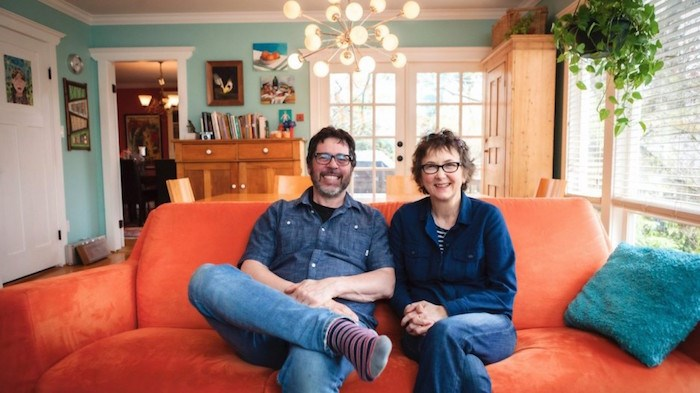 Vancouver couple David Fine and Alison Snowden have received an Oscar nomination for their animated short, Animal Behaviour (Photo courtesy National Film Board)