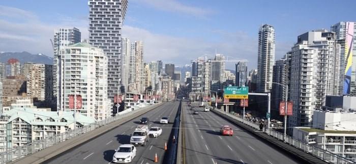 Current design of the Granville Bridge. Image courtesy City of Vancouver