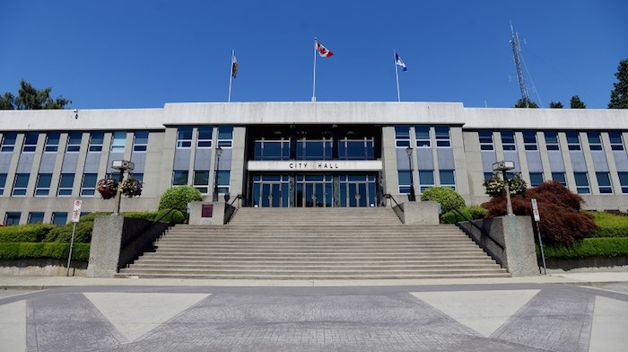 New Westminster City Hall (New West Record file photo)