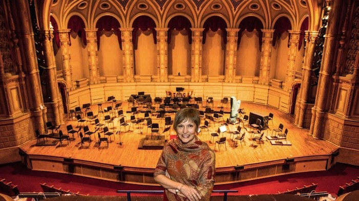Vancouver Symphony Society president Kelly Tweeddale brought the concept of having a Day of Music from similar extravaganzas that she was a part of when she was with orchestras in Cleveland and in Seattle. Photo by Chung Chow