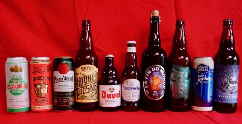 Beers that pair well with Chinese cuisine. Supplied