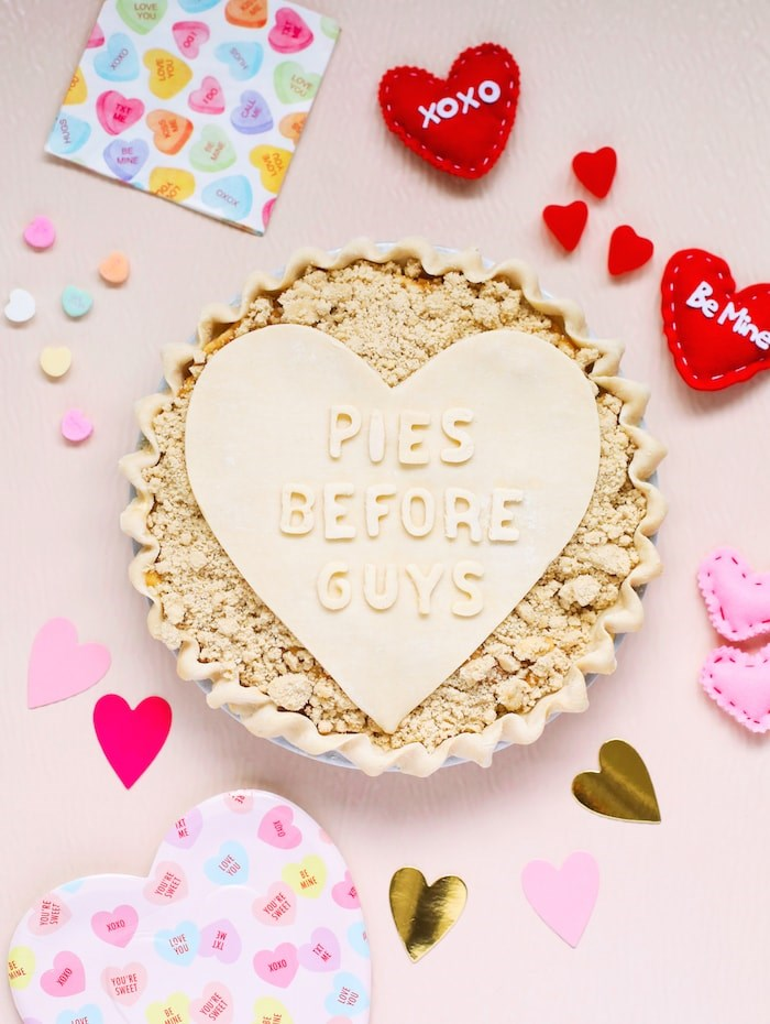 Valentine's Day pie from The Pie Hole. Photo courtesy The Pie Hole