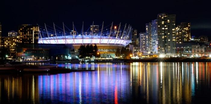 BC Place Stadium/Shutterstock