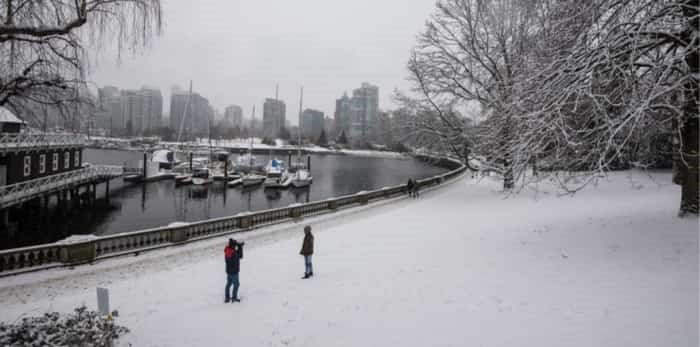 Vancouver snow / Shutterstock