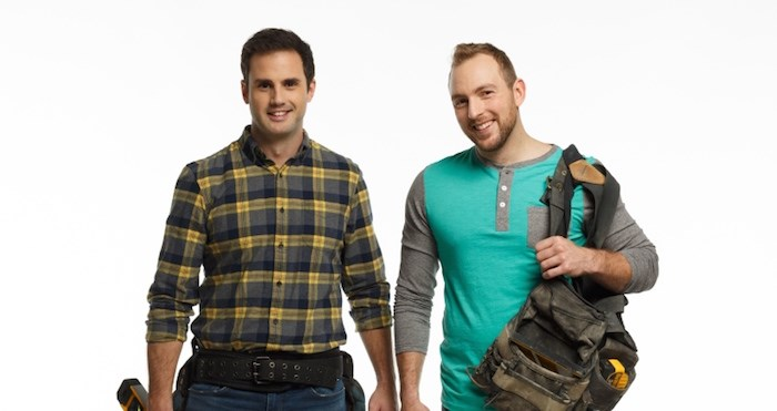 Sebastian Sevallo (left) and Mickey Fabbiano are the stars of HGTV Canada's Worst to First home renovation reality show, and presenters at the 2019 B.C. Home + Garden Show. Image supplied.