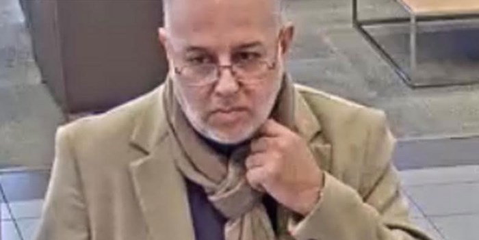 Richmond RCMP want to identify this man as part of a fraud investigation. Photo: Richmond RCMP