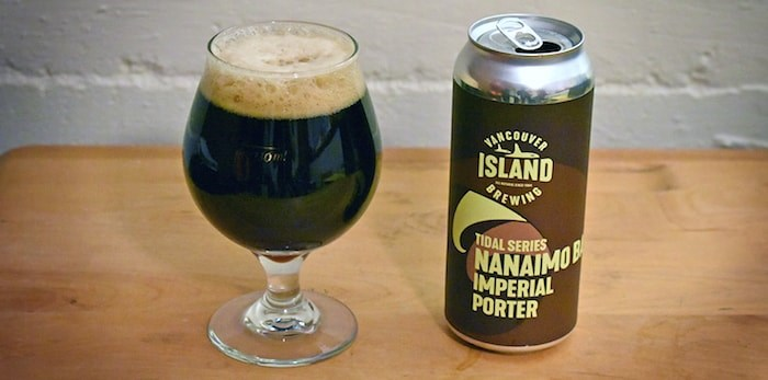 Nanaimo Bar Imperial Porter by Vancouver Island Brewing. Photo by Rob Mangelsdorf