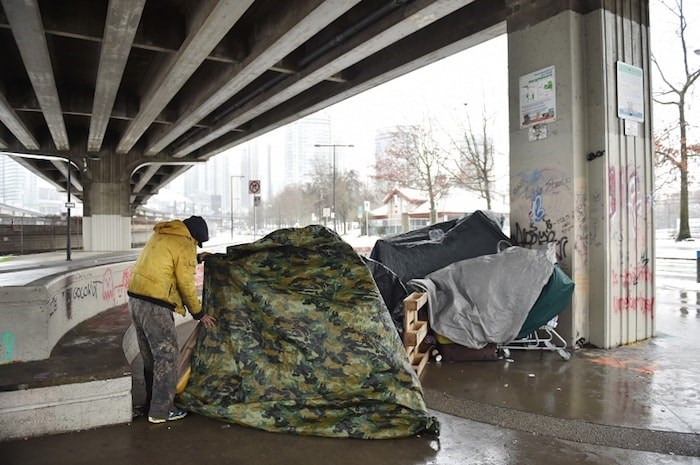 About 100 people have accessed City of Vancouver warming centres over the last week. Photo by Dan Toulgoet