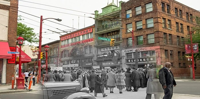 Chinatown. - On This Spot / City of Vancouver Archives