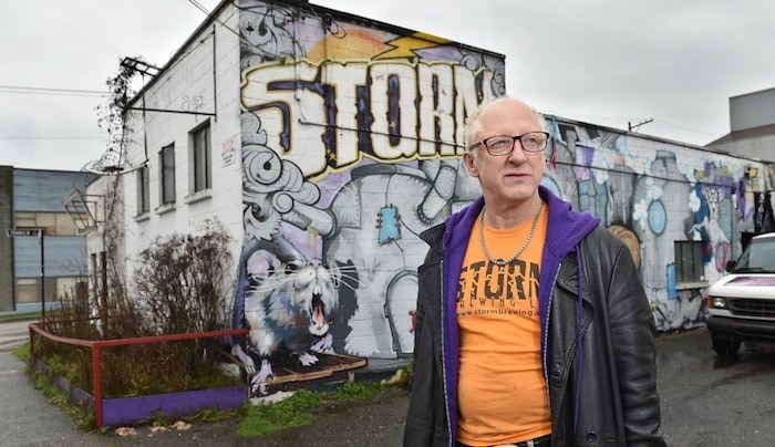 Storm Brewing's James Walton says the future of the iconic craft brewery is uncertain after its lease expires next year. Photo by Dan Toulgoet/The Growler