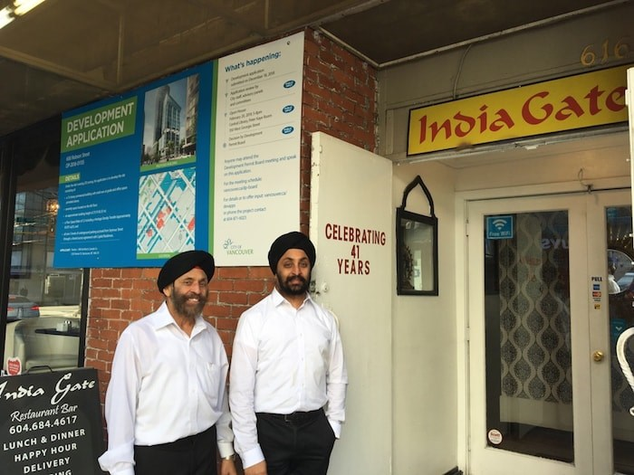 The Gupta family says they'll likely close the doors on India Gate for good after four decades in the neighbourhood. Photo by Grant Lawrence