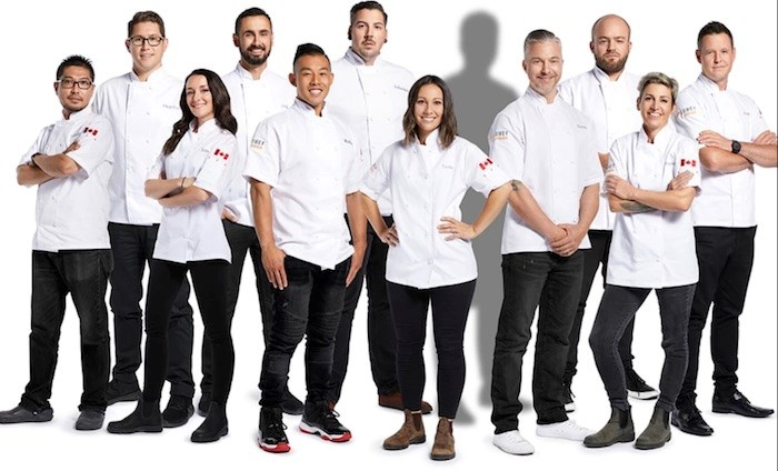 These 11 chefs are confirmed to compete in the seventh season of TV's Top Chef Canada. Photo via Food Network Canada.