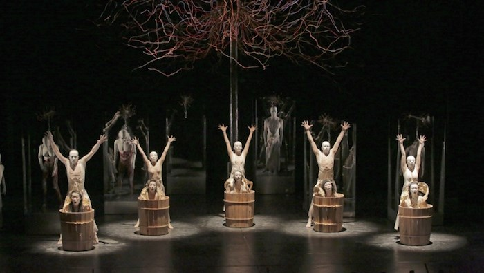 Japan-based butoh ensemble Dairakudakan performs at the Vancouver International Dance Festival