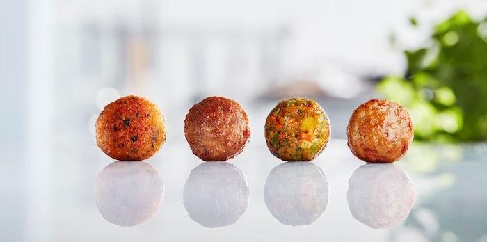 Meatballs, veggie balls, salmon balls, oh my! Photo courtesy IKEA Canada.