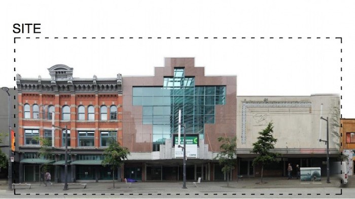 Empire Granville 7 has been vacant for about seven years. Photo via City of Vancouver