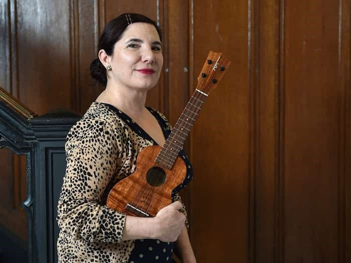 Daphne Roubini is the founder of Ruby's Ukes and head honcho behind the Vancouver Ukulele Festival, which celebrates its 10th anniversary March 22 to 24 at the Croatian Cultural Centre.