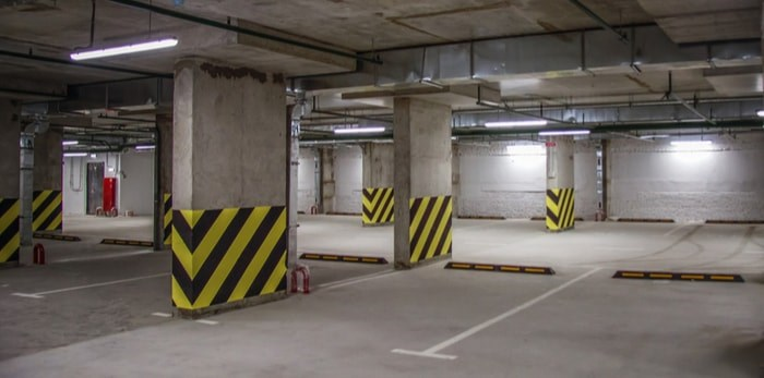 Underground parking/Shutterstock