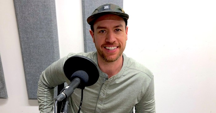 Brad Bodnarchuk of Half a Dozen Hospitality in the V.I.A. Studio. Photo by Lindsay William-Ross/Vancouver Is Awesome