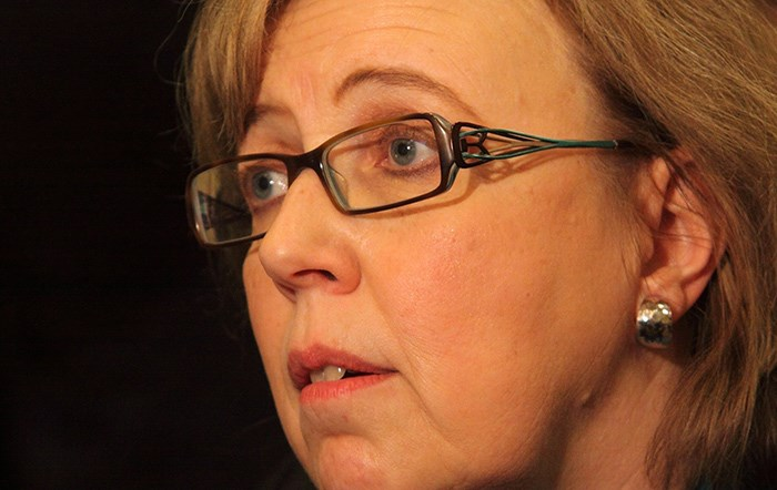 Green Party of Canada leader Elizabeth May. Photo Shutterstock