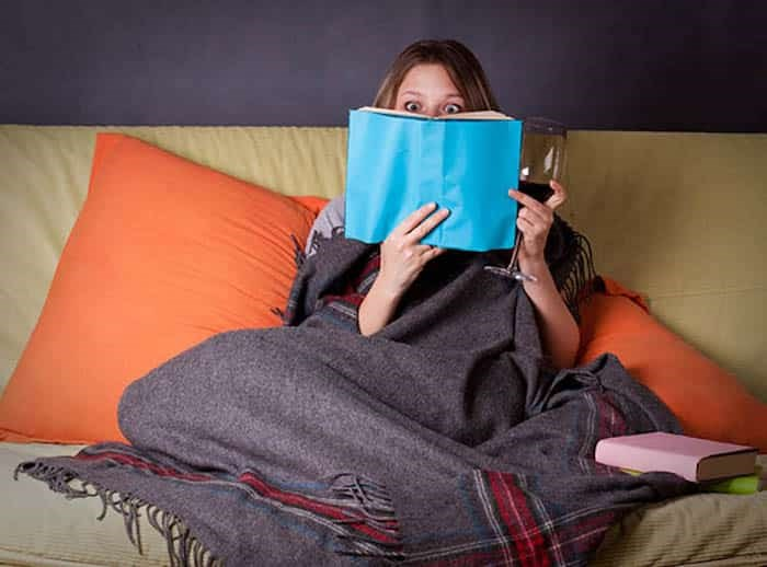 Emotional reading//Shutterstock