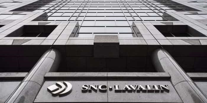 The headquarters of SNC Lavalin is seen Thursday, November 6, 2014 in Montreal. THE CANADIAN PRESS/Paul Chiasson