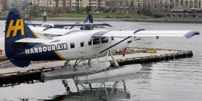Harbour Air has 42 planes and 12 routes. It's adding a zero-emission electric plane to its fleet.