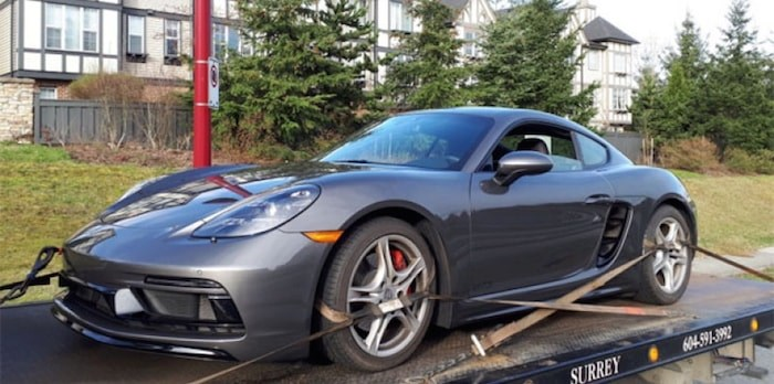 Delta PD caught the driver of this Porsche going 134 km/h in a 60 km/h zone.
