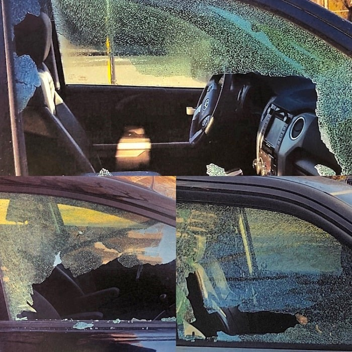 North Vancouver RCMP are seeking information after 18 people came forward to report their vehicles were broken into around the same area between March 9-10. Photos courtesy North Vancouver RCMP