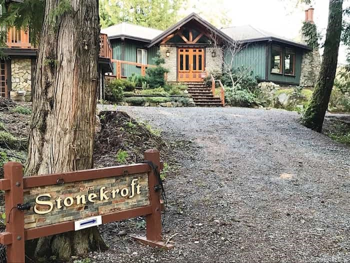 The Stonekroft Guest House, your stop at the end of Day 1. - Ken Armour