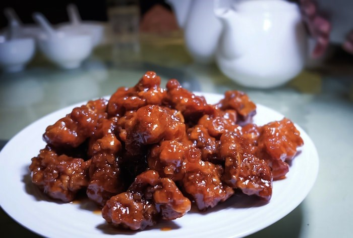 Braised Spareribs with Cranberry from Happy Valley Seafood Restaurant (Photo courtesy Chinese Restaurant Awards)