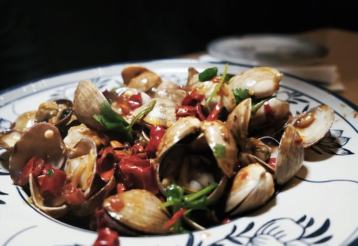 Stir Fry Spicy Clams from The Fish Man (Photo courtesy Chinese Restaurant Awards)
