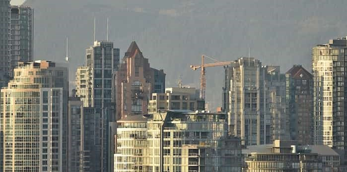 Downtown had the largest share of condominium approvals in 2018 (57 per cent) due to the significant volume of units approved on the Plaza of Nations and BC Place sites. Photo Dan Toulgoet